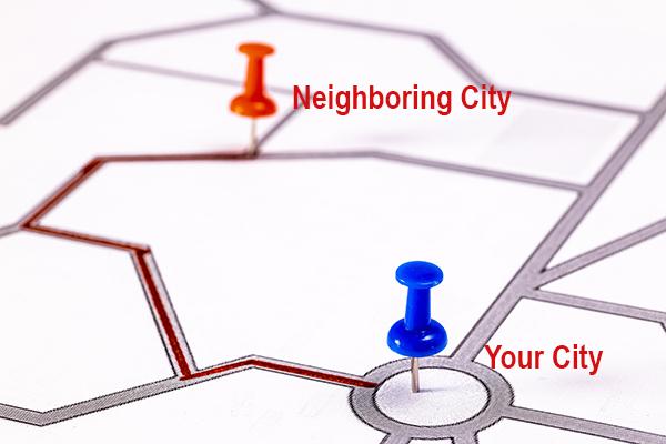 Neighboring City Ranking